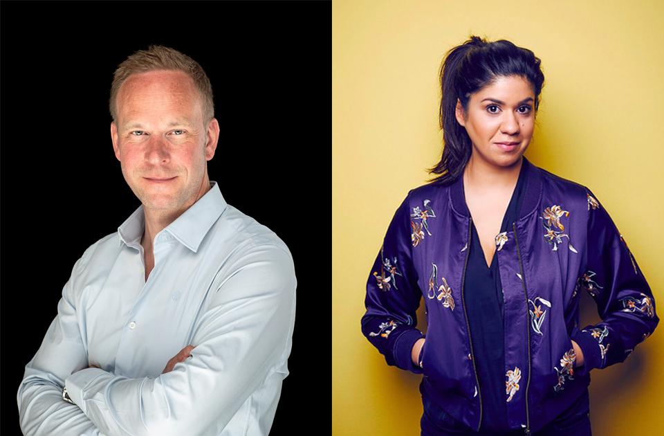 Daniel Neuhaus, CEO Yieldkit und Sabrina Spielberger, CEO digidip