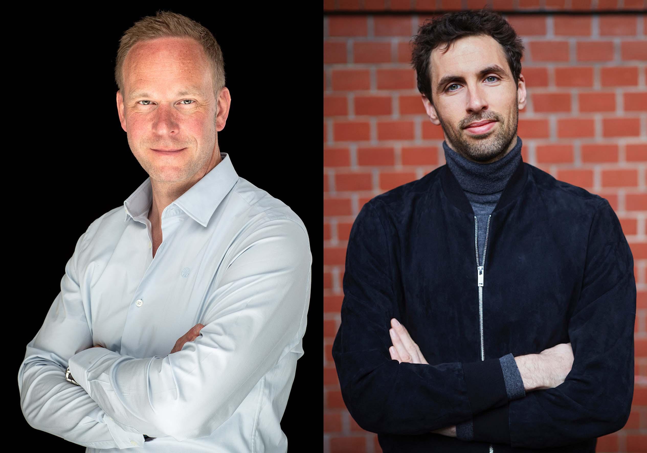 Daniel Neuhaus, CEO YK Group und Dennis Kallerhoff, Geschäftsführer shopping24