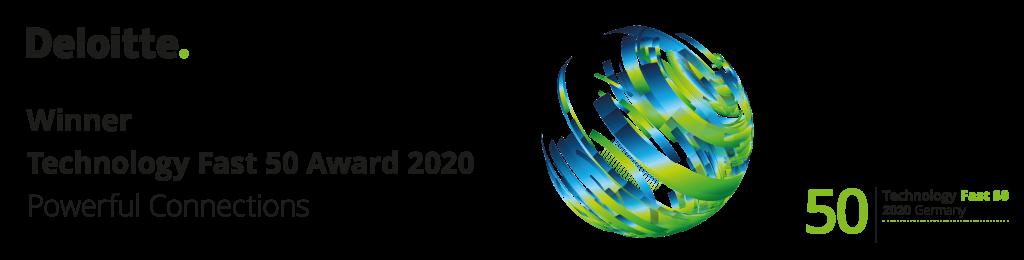 Deloitte Technology Fast 50 Award 2020